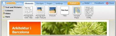 Weebly Gör hemsida med dra-och-släpp-teknik