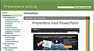 Presentera online