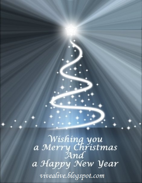 Vive Alive: Blessed Christmas and Happy New Year