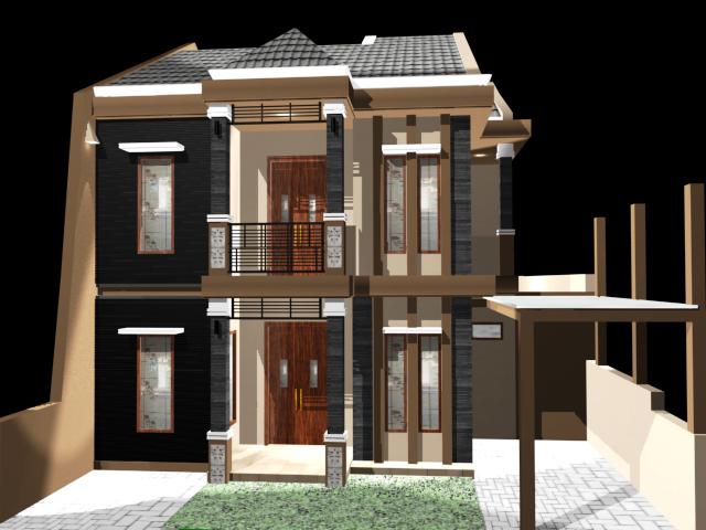 kusuma kreasi desain desain rumah minimalis tropis 2 lt