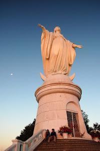 Virgen en Cerro San Cristóbal
