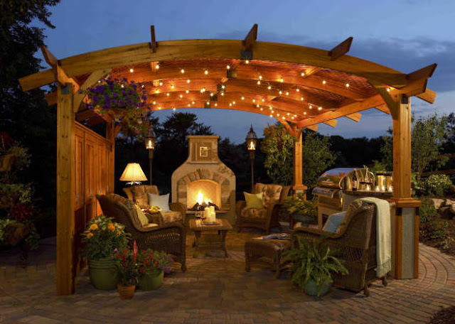 The pergola above is featured in an ad in Garden Design Magazine May ...