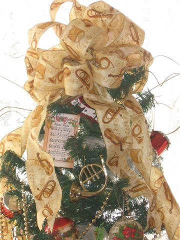 Melody Music Tree Topper