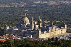 Palacio Monasterio de El Escorial. Madrid