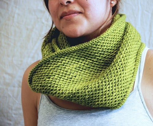 Dk Cowl Knitting Patterns : Martys Fiber Musings: Honey Cowl - a simple knit project