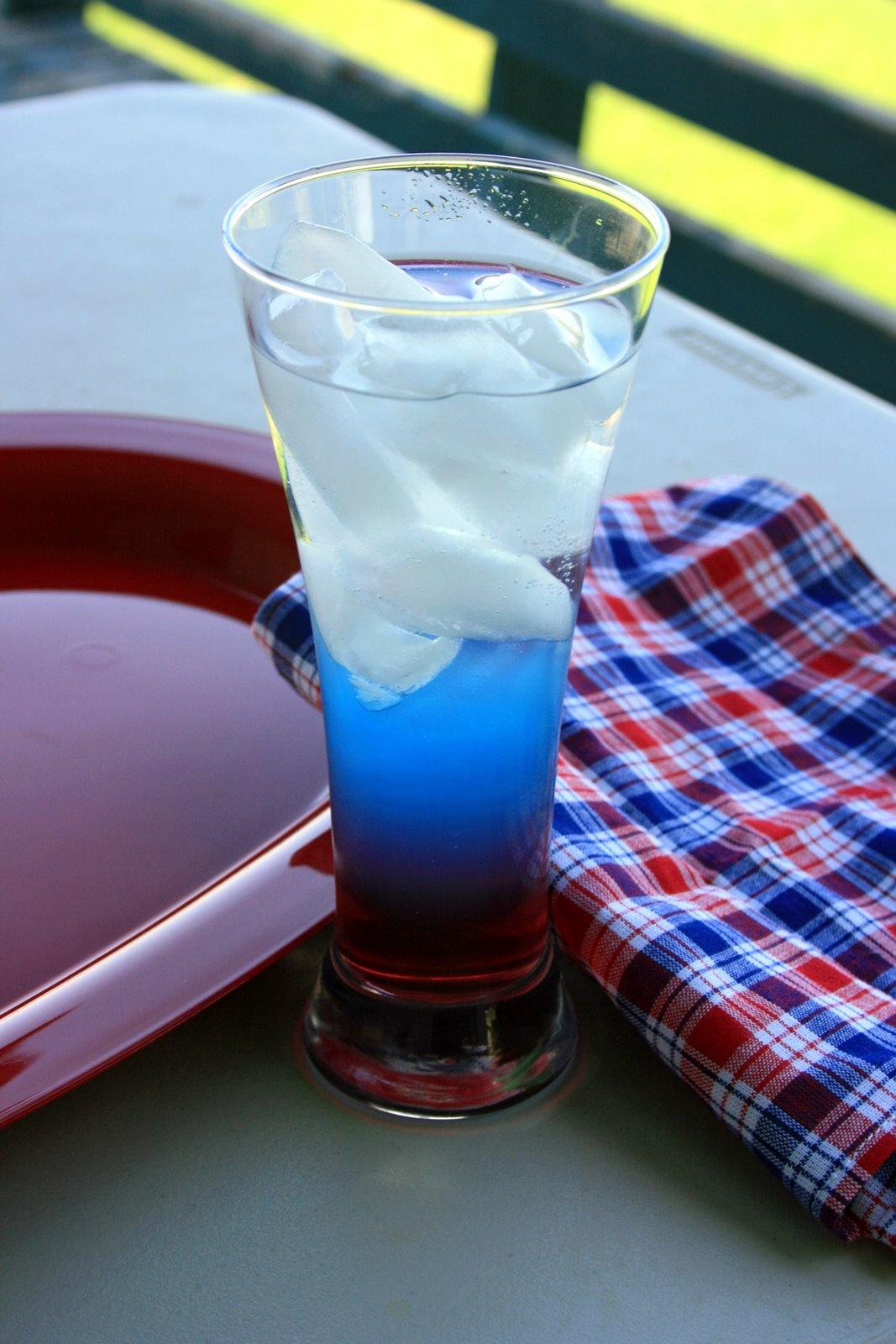 Blau-weiß-rote Köstlichkeit
