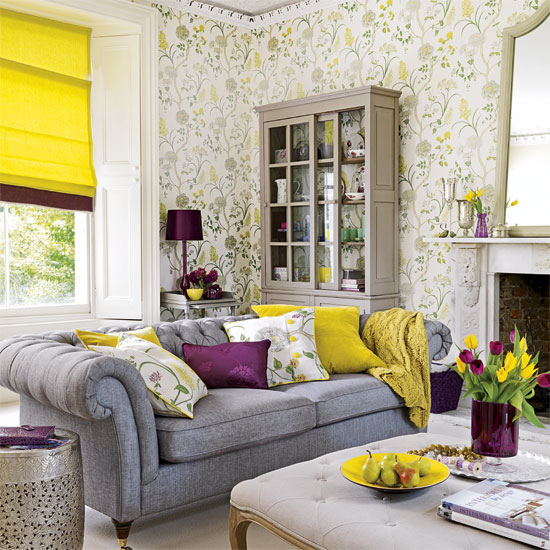Stunning Purple and Yellow Living Room 550 x 550 · 99 kB · jpeg