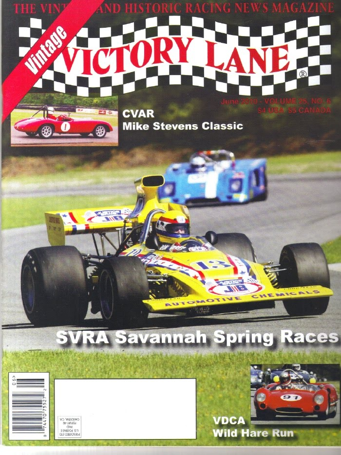 1971 Lola T-192 Formula 5000: Front Cover