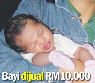 Penjualan Bayi Online