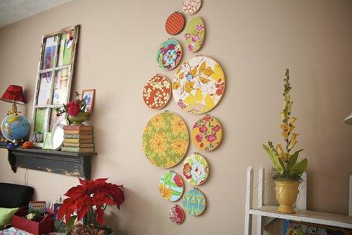 Mostaza Seed I Heart Hoop Wall Art