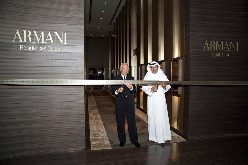 Dubai Constructions Update By Imre Solt Armani Hotel