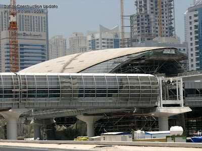 Dubai Constructions Update by Imre Solt: Dubai Metro construction ...