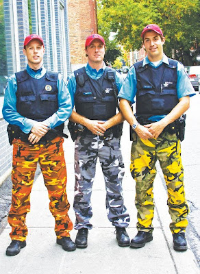 Schmlloyd: Police Strike = Camouflage Pants?