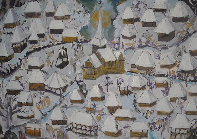 impresie din satul maramuresan