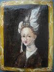 portretul unei tinere doamne