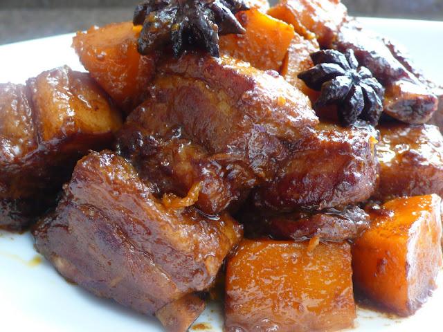 Свинина с тыквой рецепт с фото