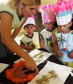 Exposição de trabalhos em comemoração ao dia do Indio