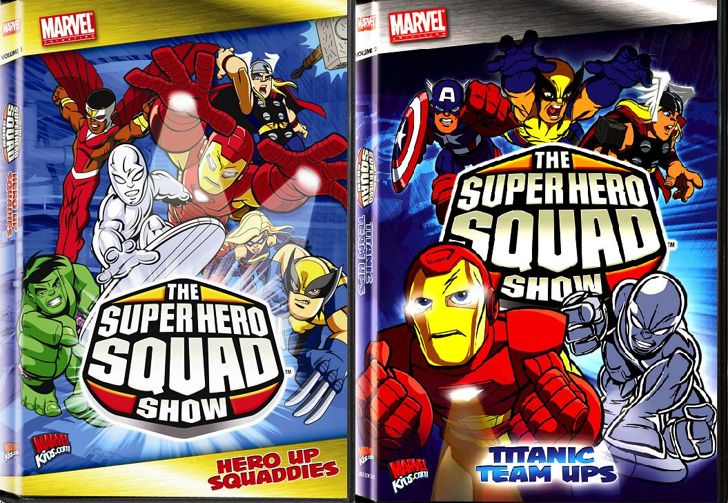 Dvd details for the super hero squad show the avengers and black