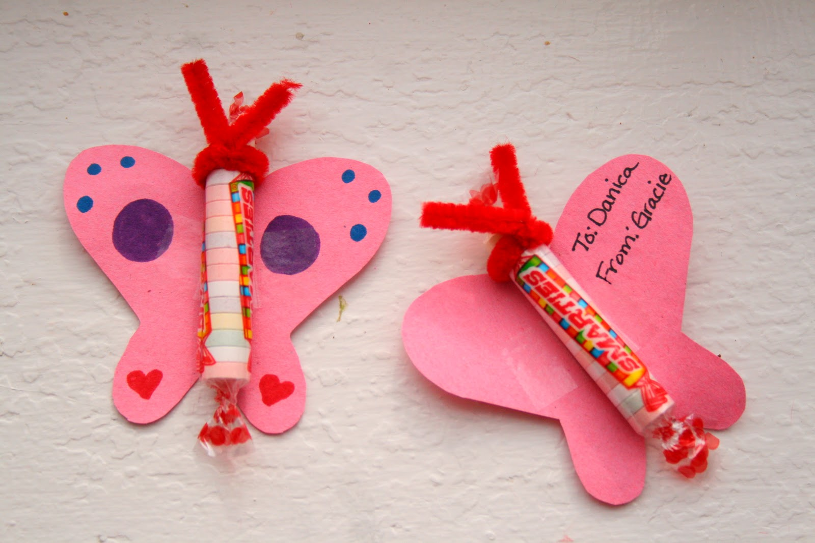 The nesting corral easy valentines day cards this is a great way to do homemade valentines day cards with your kiddos without having to do too much of the work yourself solutioingenieria Gallery