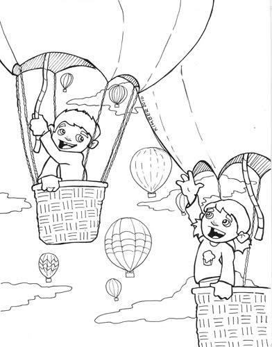 this way to kimberland  coloring pages