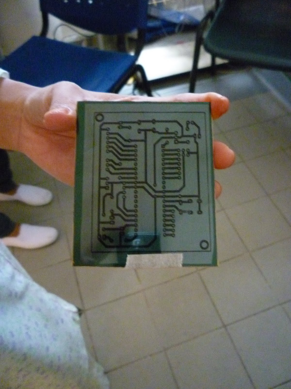 Home Automation Using Zigbee Application Do The Pcb Fabrication And Circuit Board Tape Is Printed By Laser Jet Printer On Transparency Paper Tab Uv An Seal It With But Make Sure