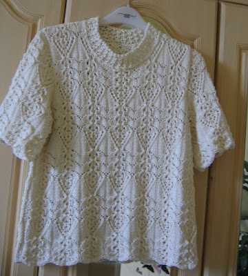 Cheerful Needles Japanese Lace Top Finished