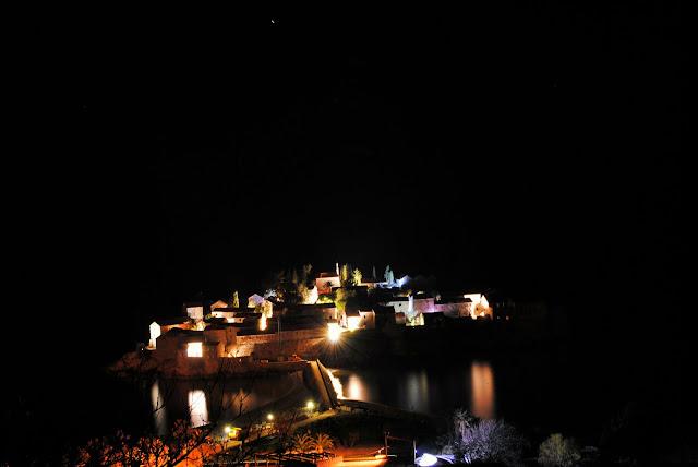Остров Св. Стефана. Ночь