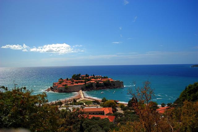 Остров Св. Стефана. Вид со смотровой точки