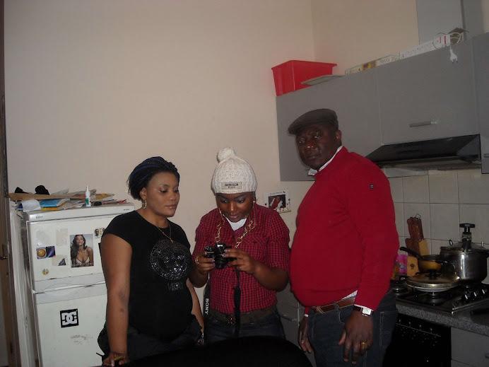 Mon oncle Thomas avec ses filles