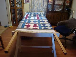 Looking for Quilt Frame plans - by PaBull @ LumberJocks.com ... : wooden quilt frame - Adamdwight.com