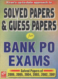 Bank PO Solved Papers & Guess Papers