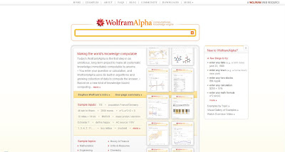home page wolfram alpha