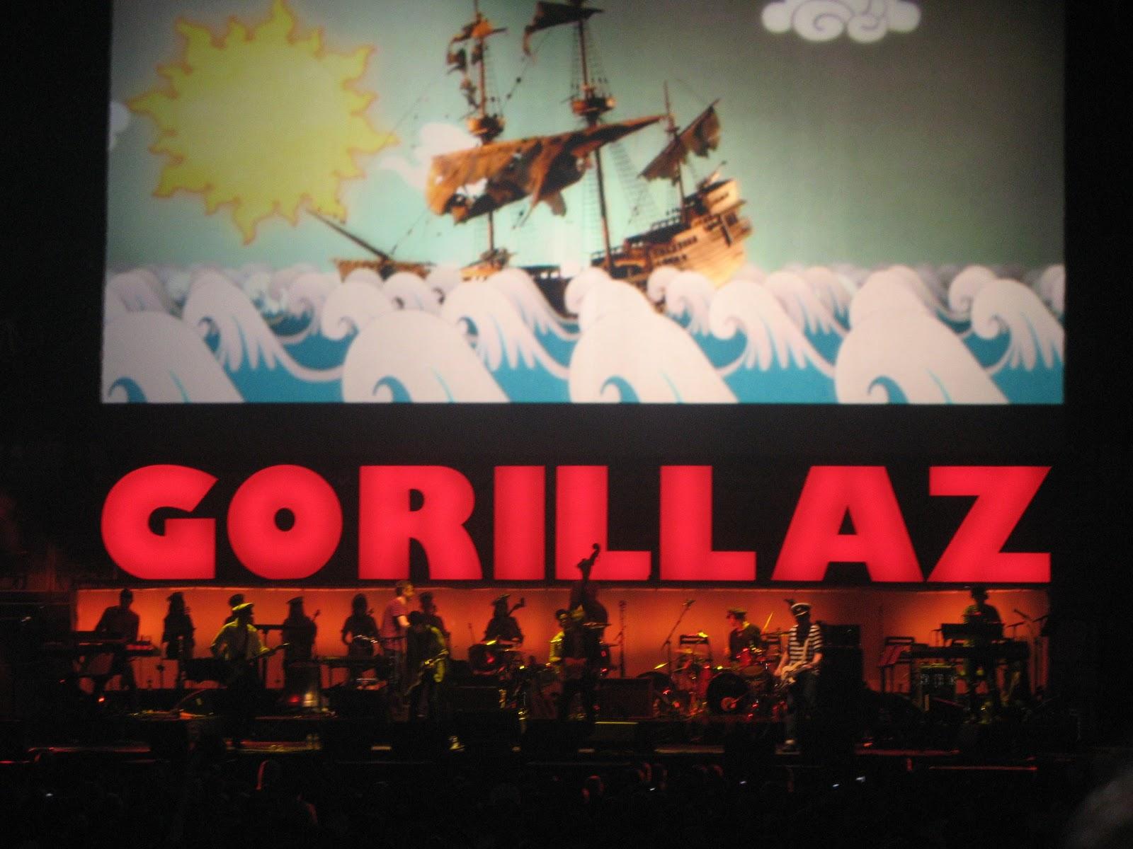 Gorillaz plastic beach wallpaper