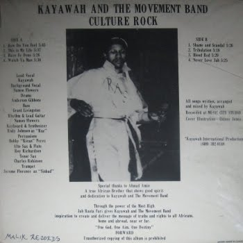 Kayawah & The Movement Band. dans Kayawah & The Movement Band 2i6cc53
