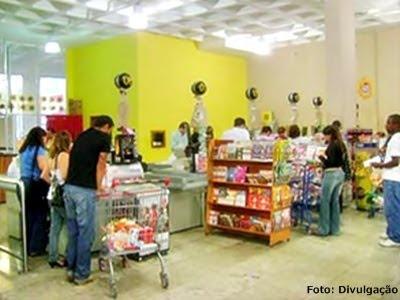 Decoração de supermercado
