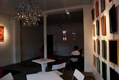 Espace Canopy video projection sur mur