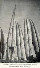 Caballitos en Huanchaco : Libro de Rostowroski.Foto W. Loayza.
