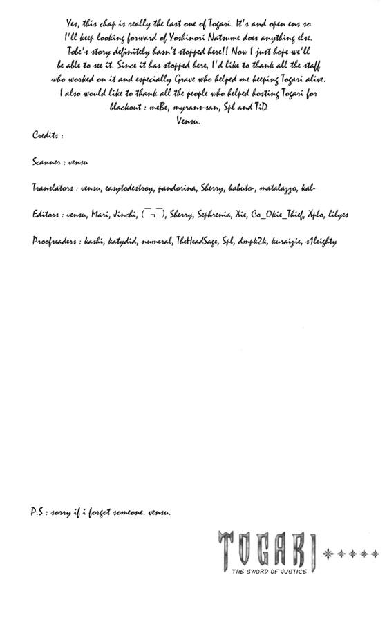 Togari chap 68 – Final Trang 23 - Mangak.info