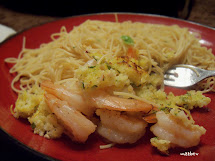 Isavor Weekend Baked Shrimp Scampi