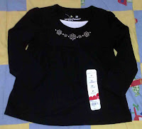 Jumping Beans Blouse (Black)