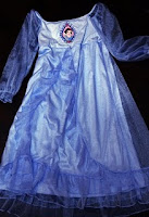 Disney Princess Costume Dress (Blue)