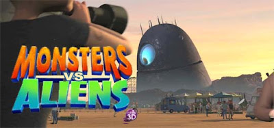 Monsters vs Aliens Robot Probe