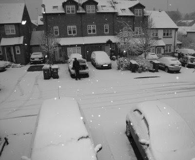 Finally...snow!