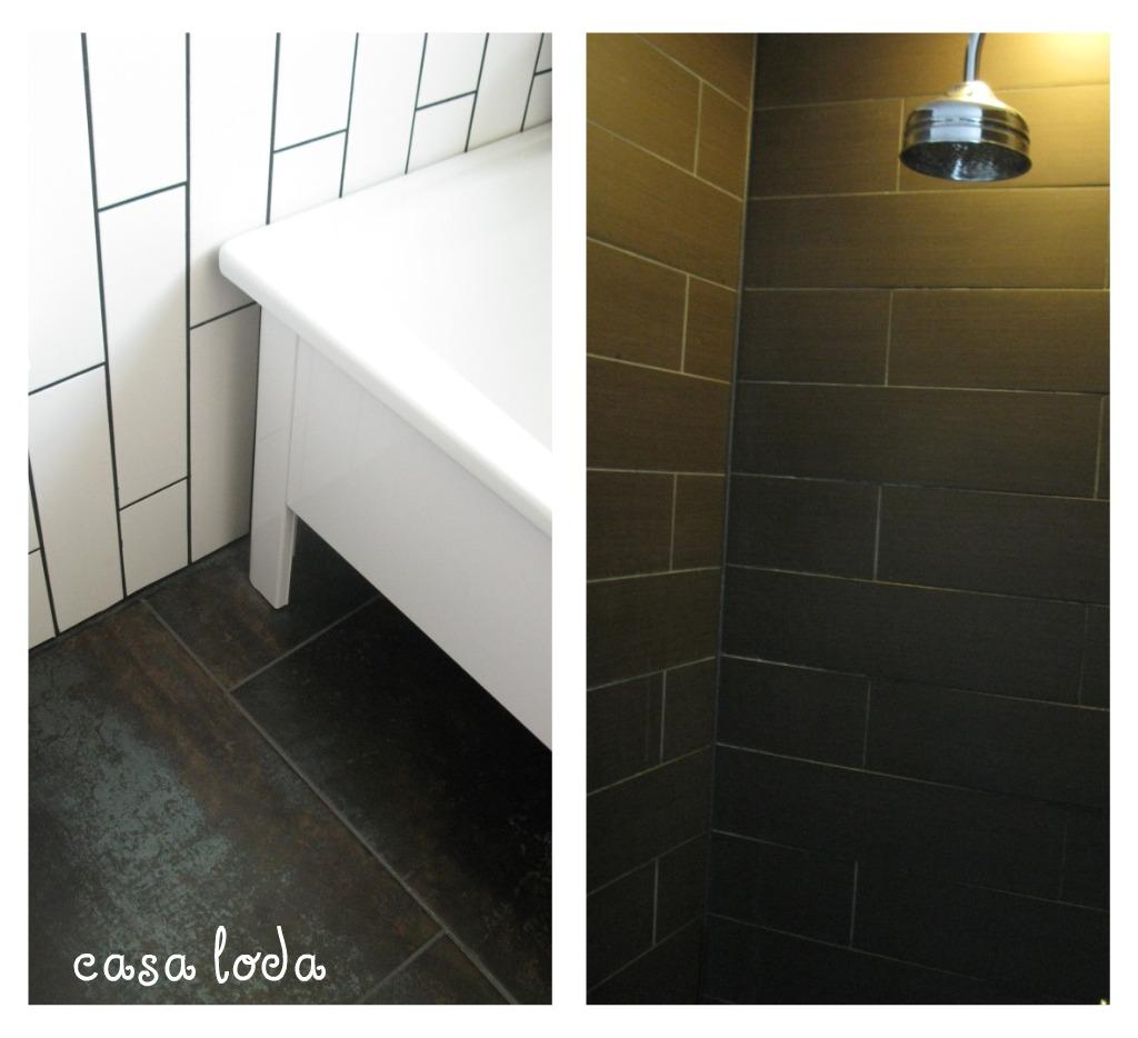Badrum svart och vitt kakel ~ xellen.com