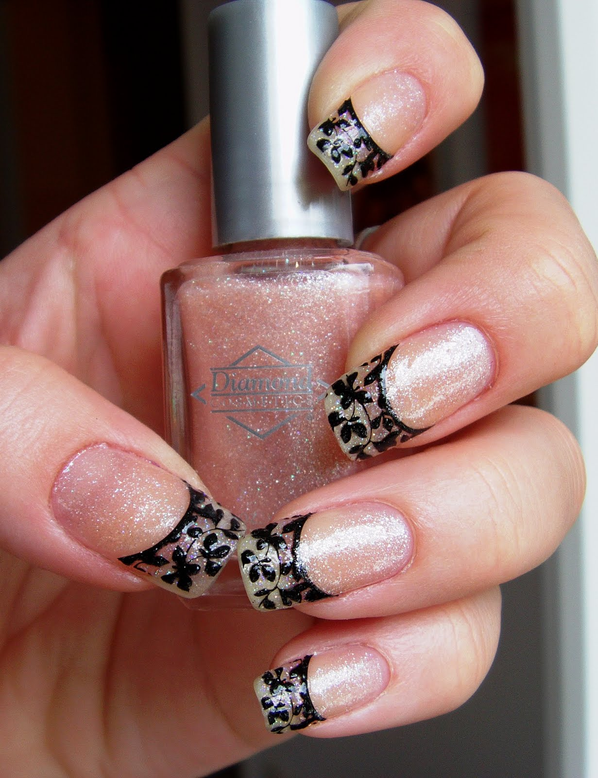 All About Nails Funky French Manicure