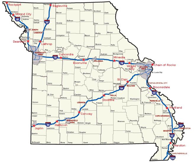Missouri Department of Transportation 2010
