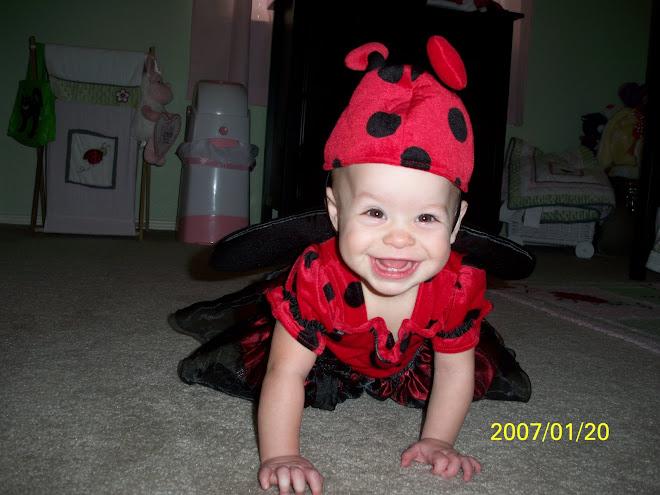The cutest ladybug EVER!!!