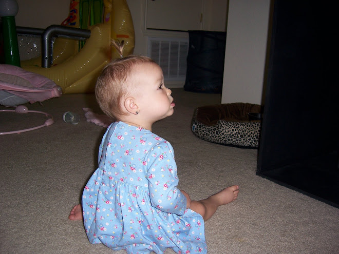 She was watching Clifford:)