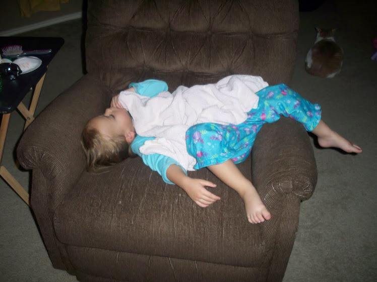 Maddy Sleeping - 10.10
