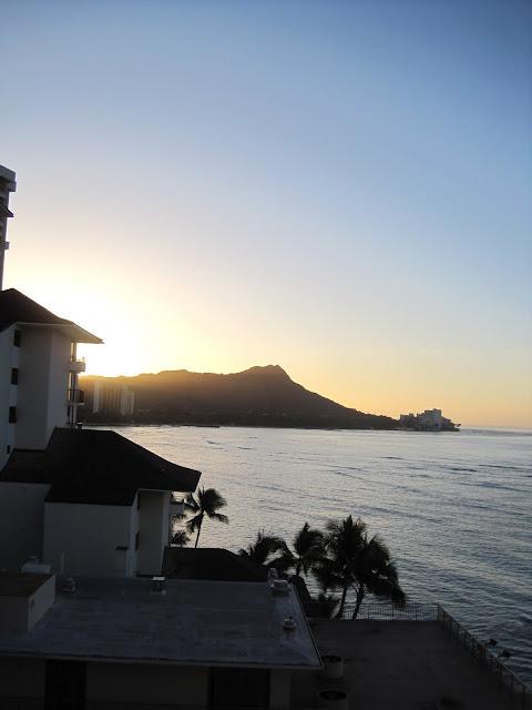 Natasha in Oz, Hawaii, Waikiki, Outrigger Reef on the Beach, Holidays, travel, Diamond Head